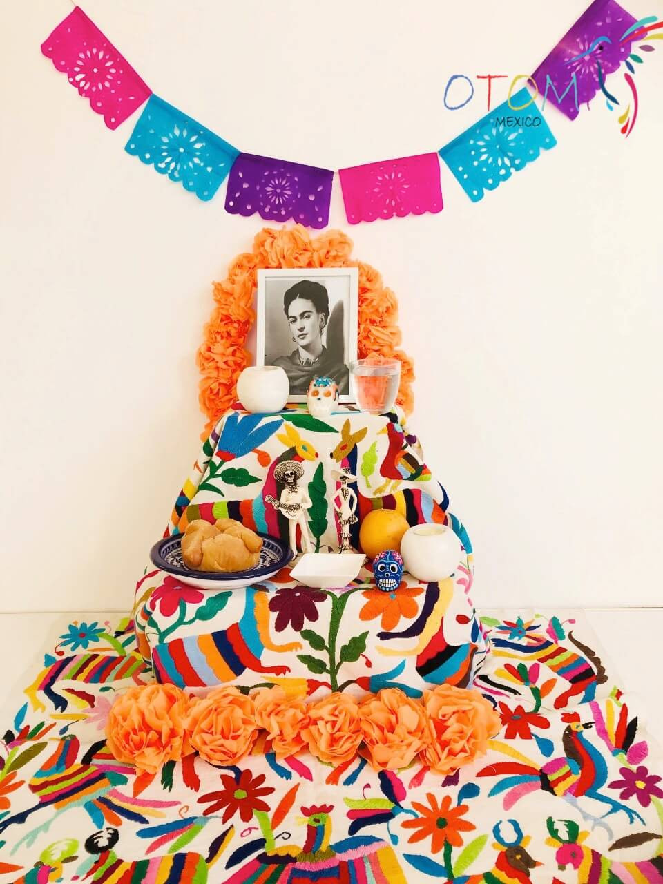 Altar Day of the dead for Frida Khalo