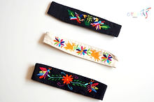 boho headbands _ Otomi mexico