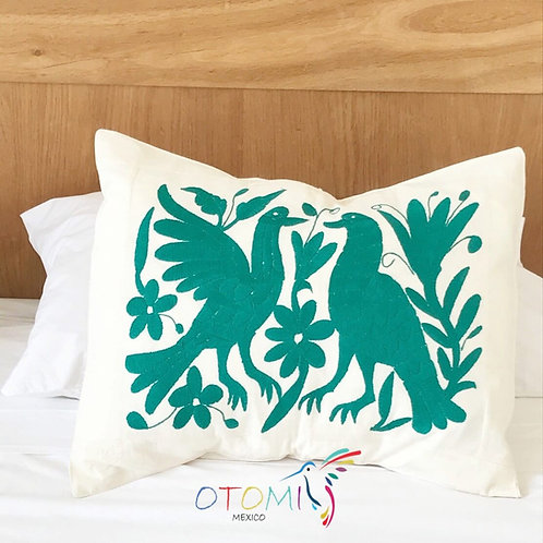 Green Pillow Cover - Animal