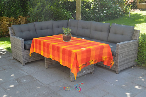 Mexican Tablecloth- Orange