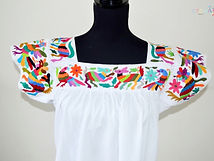 traditional mexican dress _ Otomi Mexico