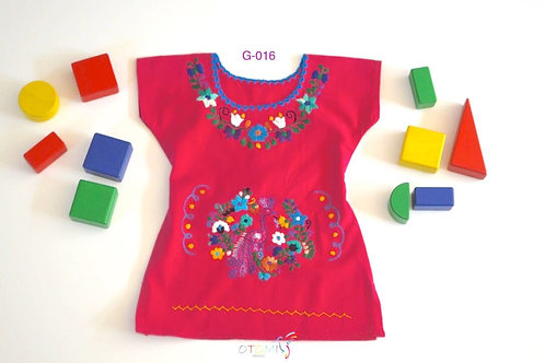 Mexican Girl Dress - Cotton - Jessica