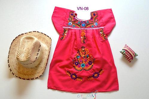 Mexican Pink dress - Sarah