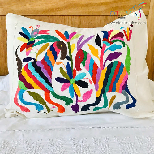 Mexican Pillow Cover - Animal design - Multicolor