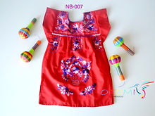 Baby Mexican Dress | Otomi Mexico | Europe