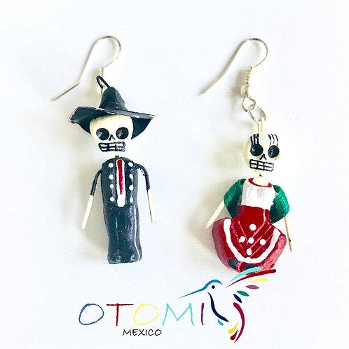 Skeleton Earrings | Calavera earrings