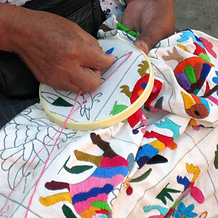 Otomi Mexican Embroidered |  Otomi Mexico