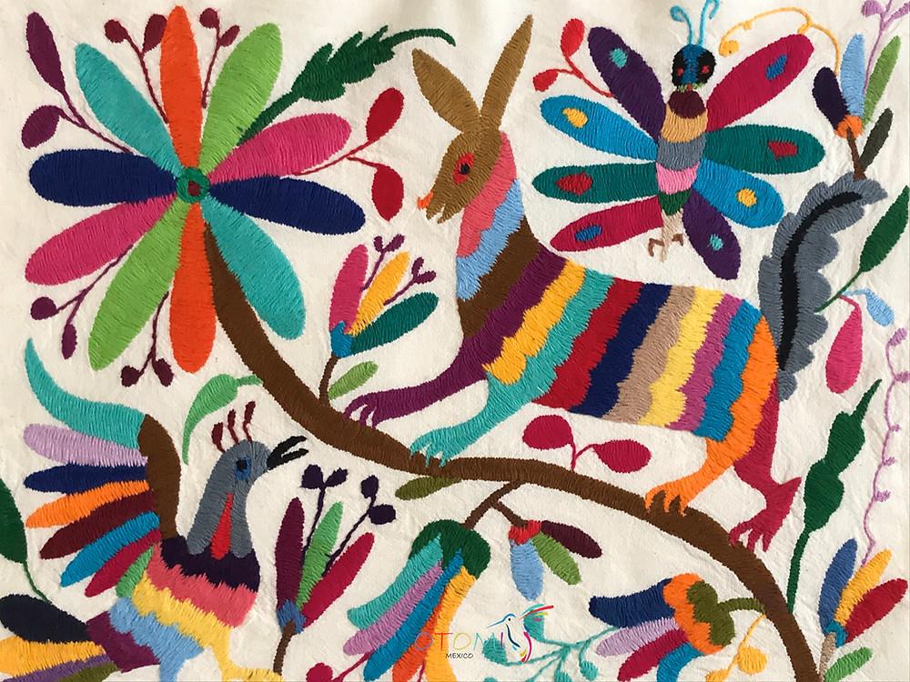 mexican textiles - Otomi Mexico