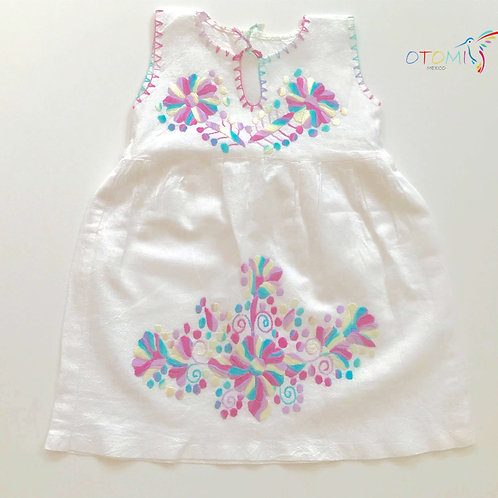 Mexican Girl Dress - Pastel colors - Sonia