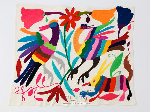 Otomi Embroidery Wall Art- Multicolor