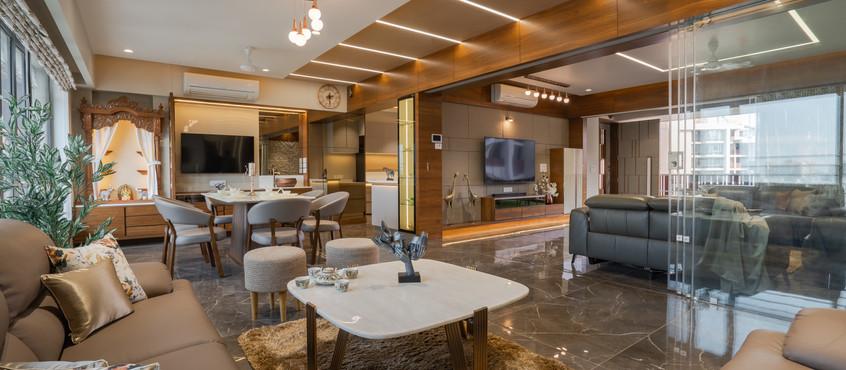 4 BHK Maple Tree Interior Design l Shayona Consultant