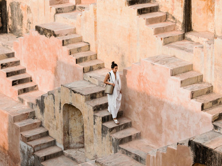 British student Eliza Hague introduces inflatable Greenhouses in the pink city of Jaipur