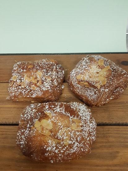 Chocolate almond croissant x2