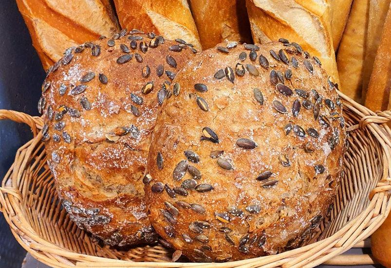 Pumpkin Seeds Bread