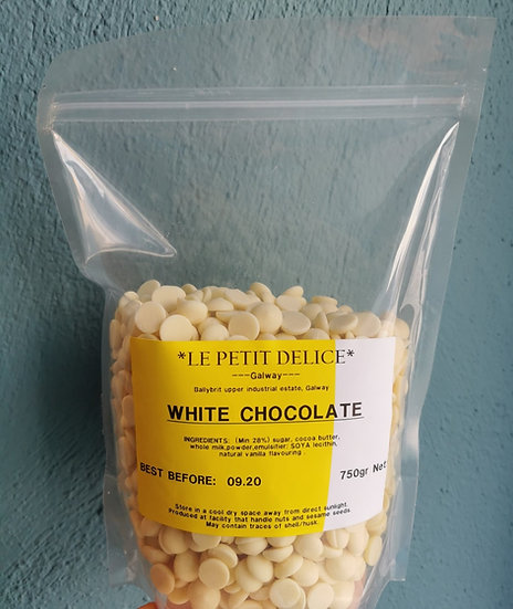 White Chocolate 750g