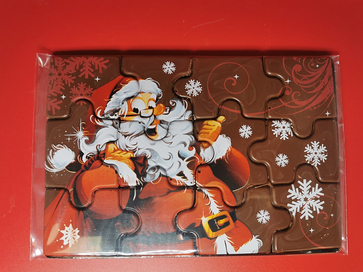 Chocolate Santa Jigsaw