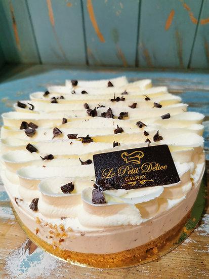"Toblerone Cheesecake 7"""