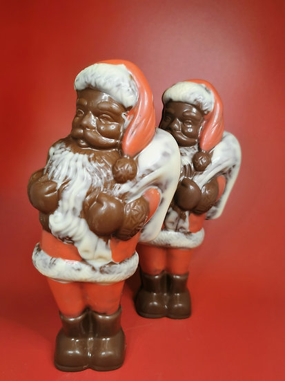 Large chocolate Santa
