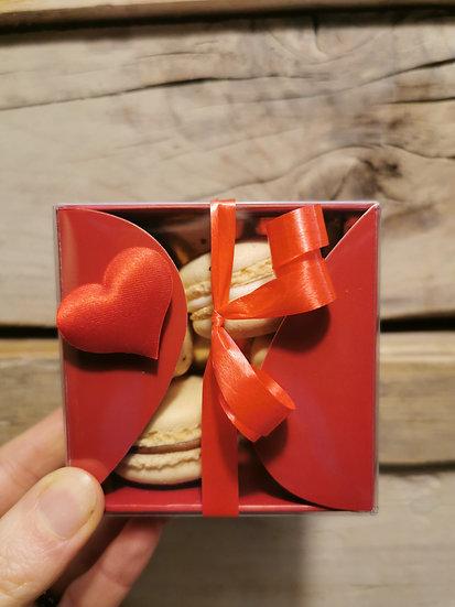 Macaron box x4