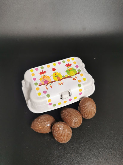Small praliné eggs box (6)