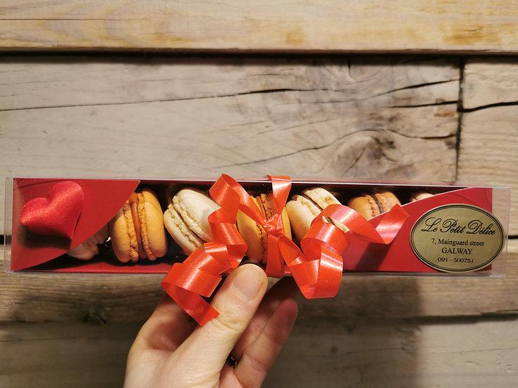 Macarons box x8