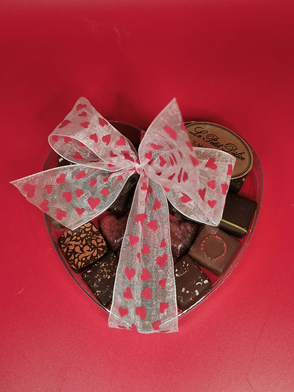 Sélection of handmade chocolate