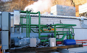 Custom Heat Pump Uses Waste Heat From Am