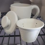 Mug with Lid and Infuser