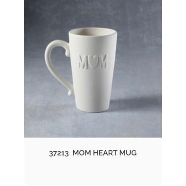 """Giant """"MOM"""" Mug"""