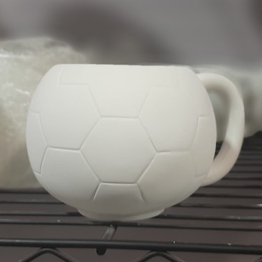 Soccer Ball Mug 20oz