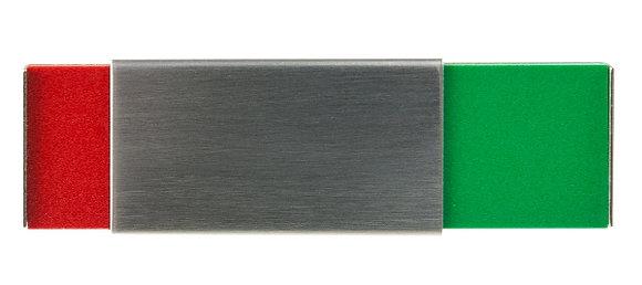 Frei-Besetzt Anzeige Schieber (Kleber), klein