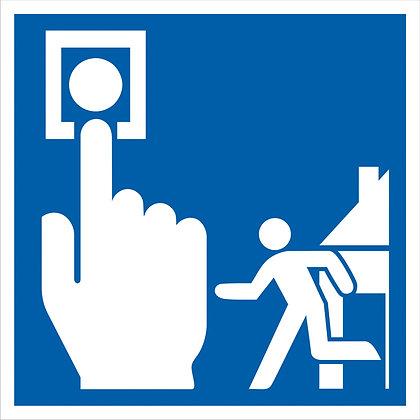 Brandschutz-Hinweisschild
