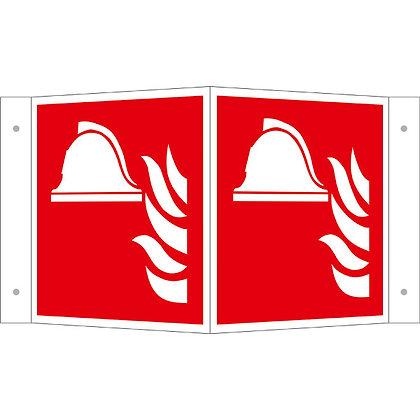 Brandschutzschild - Winkel