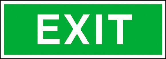 Fluchtweg-Zusatzschild