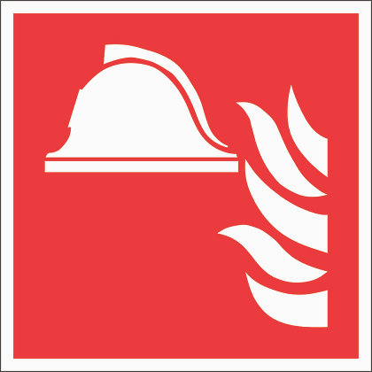 Brandschutzschild