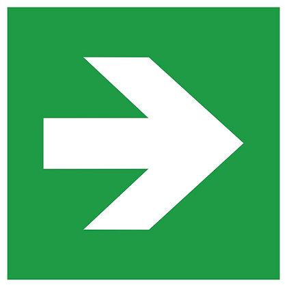 Fluchtweg- / Erste Hilfe-Zusatzschild
