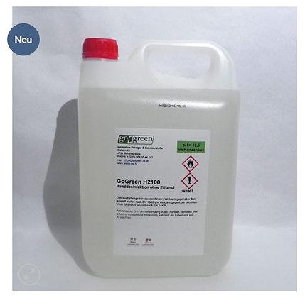 GoGreen H2100 Handdesinfektion ohne Ethanol 5 Liter