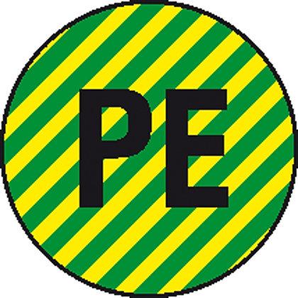Etiketten  -Kennzeichnung elektrischer Leiter-