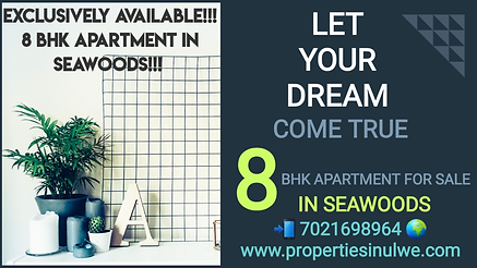 8 BHK Flat In Seawoods
