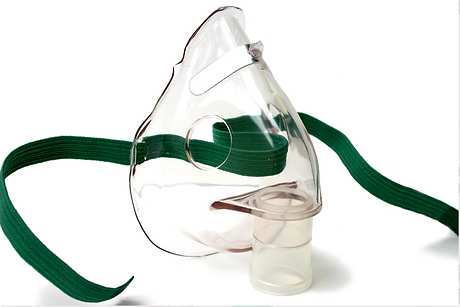 nebulisation mask repiratory physiotherapy