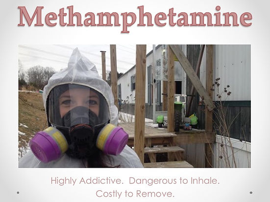 Protected and ready to test for Methamphetamine