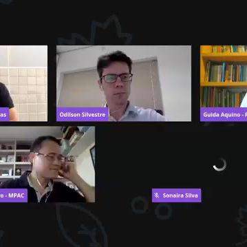 Participação em live da Ufac- Marcha virtual pela vida