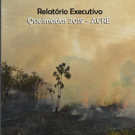 Relatório sobre as Queimadas de 2019 no Estado do Acre