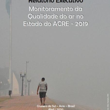 Relatório de monitoramento da qualidade do ar no Acre aponta poluição no sudoeste da Amazônia