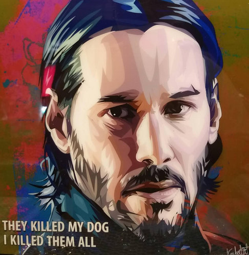 Keanu Reeves -- They killed my dog, I killed them all