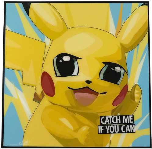Pikachu -- Catch me if you can