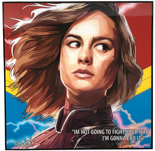 Captain Marvel - I'm not going to fight your war.