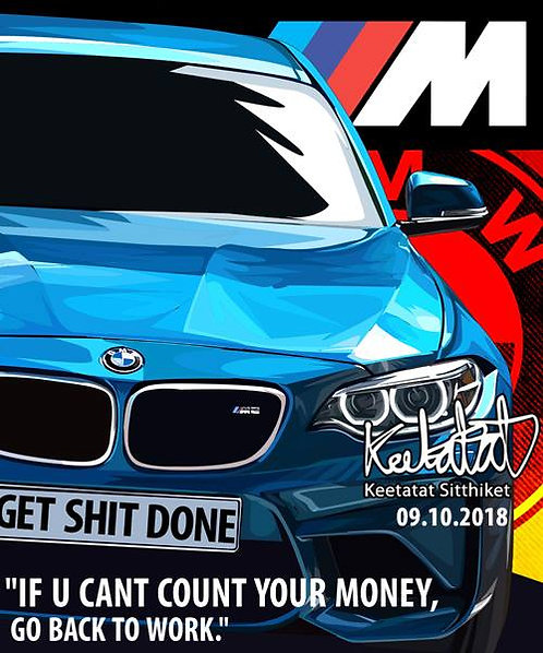 BMW M2 - If you can't count your money, go back to work.