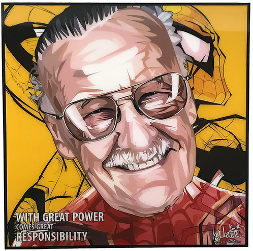 Stan Lee -- With Great Power comes Great Responsibility