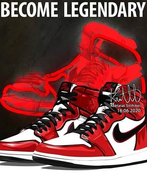 Jordan 1 - Become Legendary